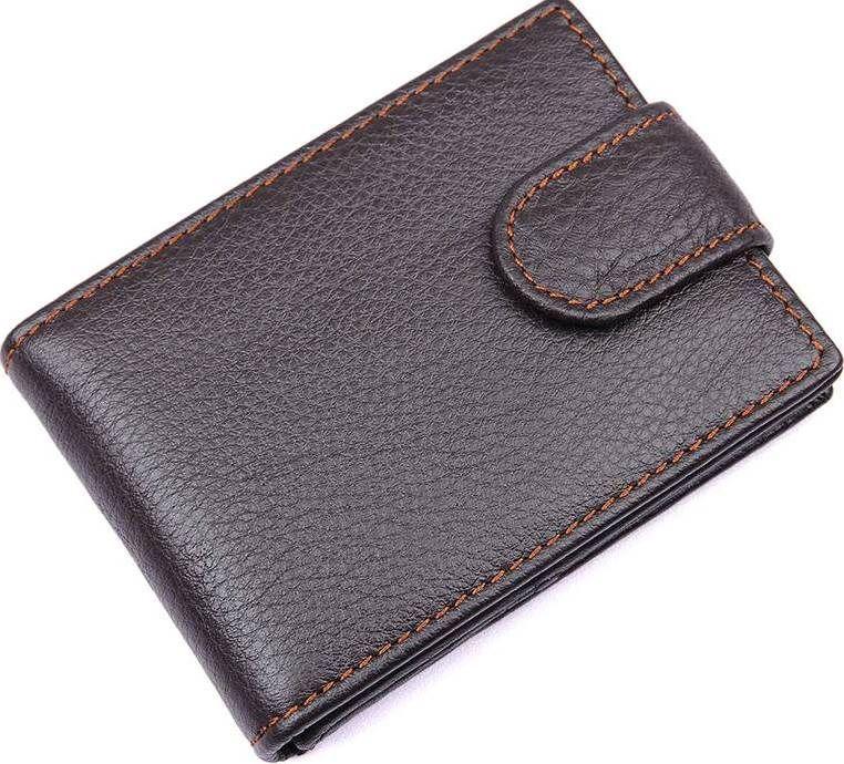 Кредитница мужская Vintage 14510 кожаная Коричневая, Коричневый, фото 1