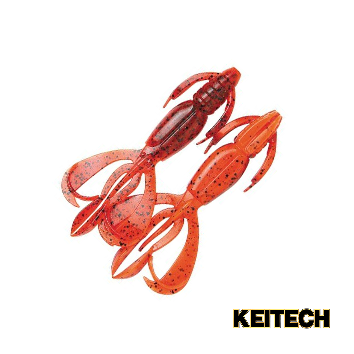 "Силикон Keitech Crazy Flapper 2.8"" (8 шт/упак) ц:407 delta craw"