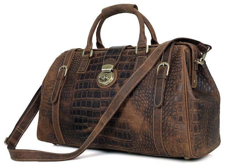 Саквояж Vintage 14410 Коричневый, Коричневый
