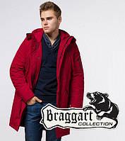 Зимняя парка мужская красная Braggart Arctic 23675K