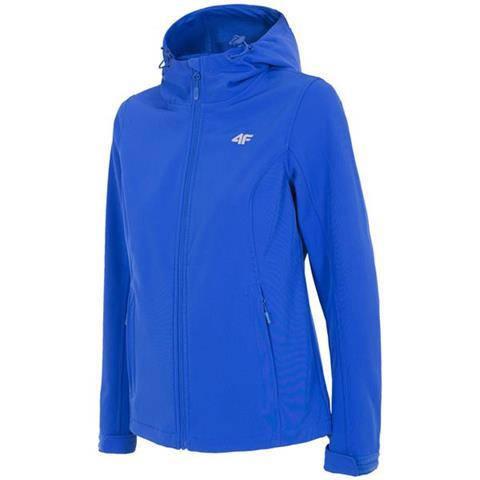Куртка женская softshell 4F H4L18 SFD001 синий L/M/S