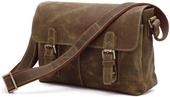 Сумка мужская Vintage 14118 винтажная кожа Коричневая, Коричневый