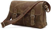 Сумка мужская Vintage 14118 винтажная кожа Коричневая, Коричневый, фото 1