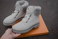 Женские зимние ботинки UGG (gray), зимние серые ботинки UGG, женские серые ботинки UGG, фото 1