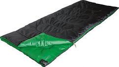 Спальный мешок HIGH PEAK PATROL (190x80cm) granatowozielony /20047 /Левый