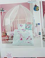Постельное белье в детскую кроватку Хлопок (TM Clasy) Little Princess, Турция