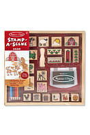 "Набор штампов ""Ферма"" (Wooden stamps Farm, 20 шт.) ТМ Melissa & Doug MD18592"
