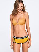 Оригинал - Трусики классические женские от Victoria's Secret (Виктории Сикрет) золотой цвет размерами S/M tvs1