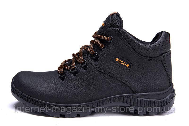 Мужские зимние кожаные ботинки Ecco Infinity