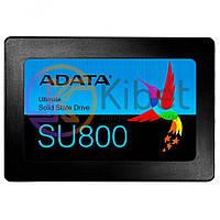 Твердотельный накопитель 256Gb, A-Data Ultimate SU800, SATA3, 2.5', 3D TLC, 560/520 MB/s (ASU800SS-256GT-C) Б/Н