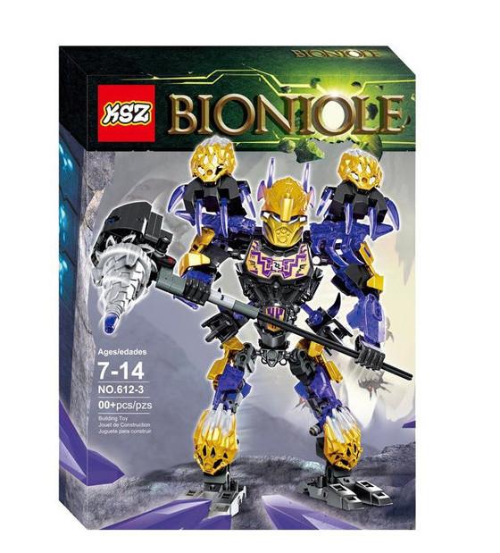 """Конструктор KSZ 612-3 Bionicle """"Онуа - Объединитель Земли"""", 217 детали"""