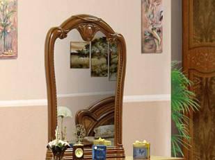 ДЗеркало на стіну з ДСП/МДФ у вітальню спальню вишня Прімула Миро-Марк