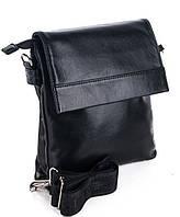 8628ae221896 Мужская кожаная сумка 7451 Black. Пошив сумок под заказ