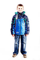 """Куртка весенняя для мальчика """"Трек"""" ,32р"""