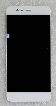 Модуль (сенсор+дисплей) для Huawei P10 (VTR-L29) білий, фото 2