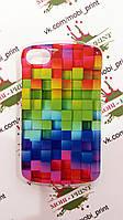 Чехол для Blackberry Q10 (цветные кубики)