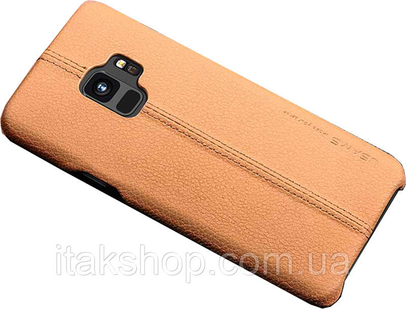 Чехол-накладка Usams Joe Series Samsung Galaxy S9 Light Brown