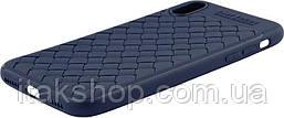 Чехол-накладка Usams Yun Series Apple iPhone X Blue, фото 2