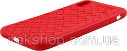 Чехол-накладка Usams Yun Series Apple iPhone X Red, фото 3