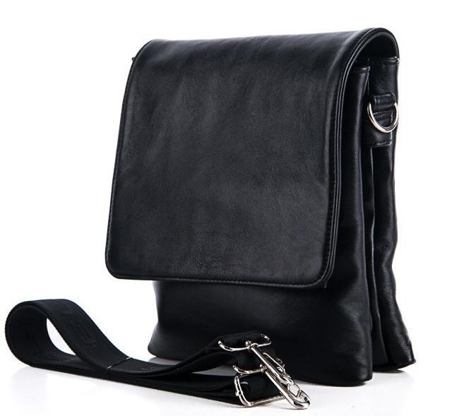 452826e04a99 Мужская кожаная сумка 7427 Black Сумки мужские из натуральной кожи купить  оптом Одесса -