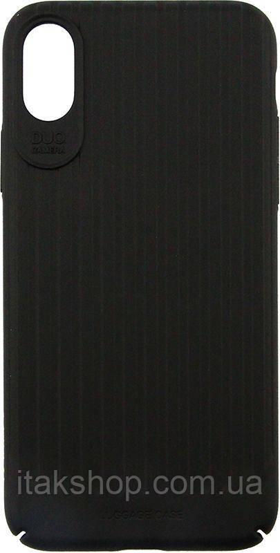 Чехол-накладка Usams Trunk Series Apple iPhone X Black