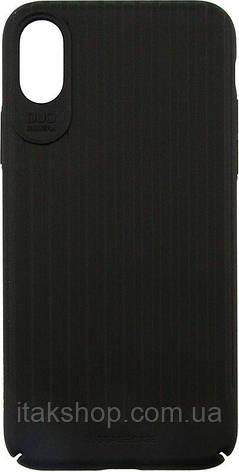 Чехол-накладка Usams Trunk Series Apple iPhone X Black, фото 2