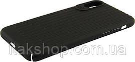 Чехол-накладка Usams Trunk Series Apple iPhone X Black, фото 3