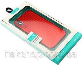 Чехол-накладка Usams Trunk Series Apple iPhone X Red, фото 3