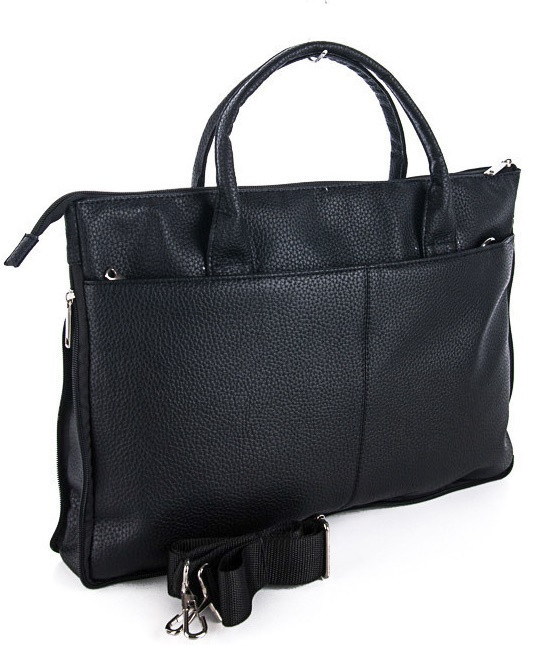 94e1b7d8475a Мужской портфель 7410 черный. Пошив сумок под заказ -