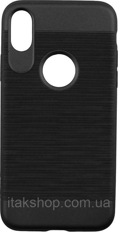 Чехол-накладка Usams Lavan Series Apple iPhone X Black