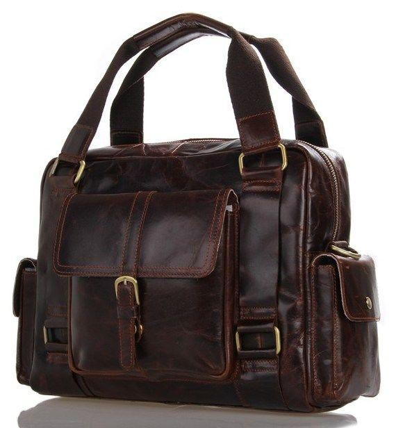 835cf66a0291 Купить Сумка мужская Vintage 14235 кожаная Коричневая, Коричневый в ...