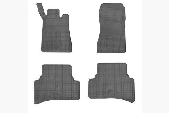 Резиновые коврики (4 шт, Stingray Premium) - Mercedes C-Klass W203
