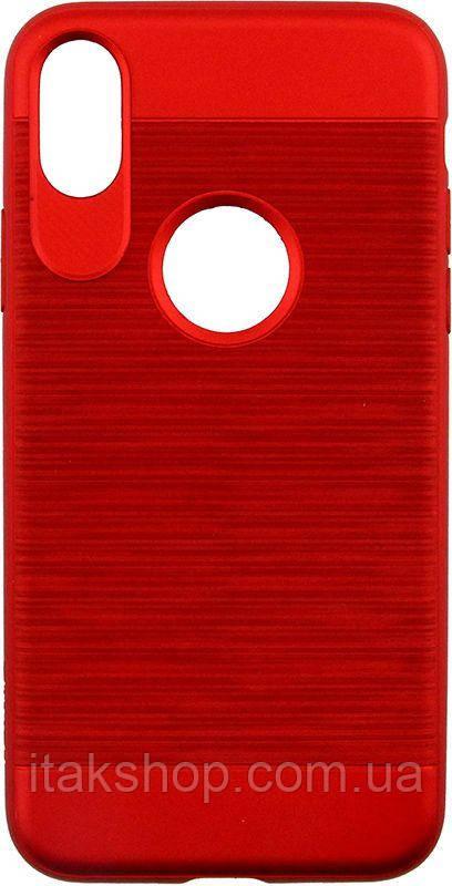 Чехол-накладка Usams Lavan Series Apple iPhone X Red