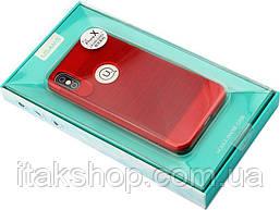 Чехол-накладка Usams Lavan Series Apple iPhone X Red, фото 3