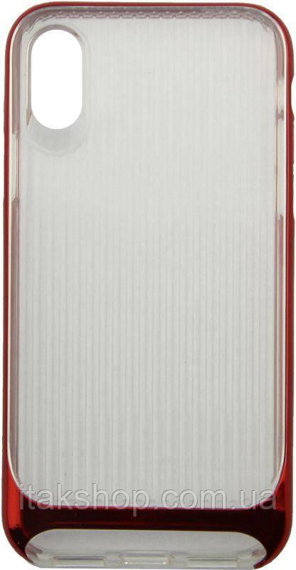 Чехол-накладка Usams Senior Series Apple iPhone X Red
