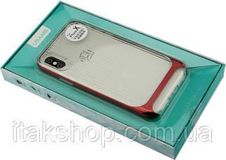 Чехол-накладка Usams Senior Series Apple iPhone X Red, фото 2