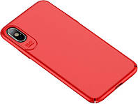 Чехол-накладка Usams Jay Series Apple iPhone X Red
