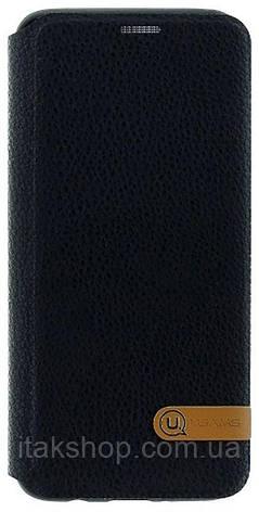 Чехол-накладка Usams Duke Series Apple iPhone X Black, фото 2