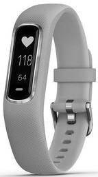 Фітнес браслет Garmin Vivosmart 4 Silver with Gray Band