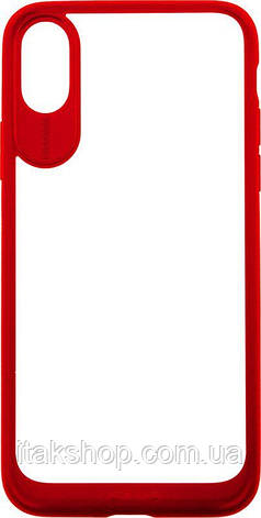 Чехол-накладка Usams Miya Series Apple iPhone X Red, фото 2