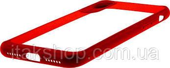 Чехол-накладка Usams Miya Series Apple iPhone X Red, фото 3
