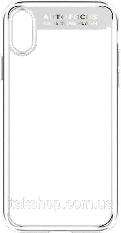Чехол-накладка Usams Mant Series Apple iPhone X White