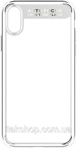 Чехол-накладка Usams Mant Series Apple iPhone X White, фото 2