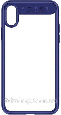 Чехол-накладка Usams Mant Series Apple iPhone X Blue, фото 2