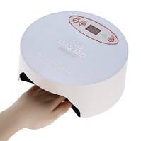 Уф Led гибридная лампа для маникюра Anself 40 Вт с дисплеем