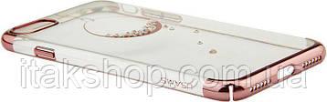 Чехол-накладка Usams Plating Diamonds Zander Series Apple iPhone 7/8 Circularity, фото 2