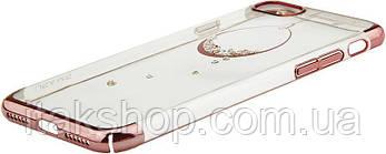 Чехол-накладка Usams Plating Diamonds Zander Series Apple iPhone 7/8 Circularity, фото 3