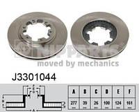Тормозной диск передний FORD MAVERICK, NISSAN NAVARA, NISSAN PICK UP, NISSAN TERRANO II J3301044 NIPPARTS