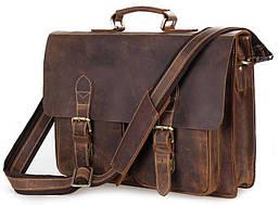 Портфель Vintage 14430 винтажная кожа Коричневый, Коричневый