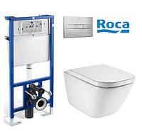 Набор инсталляция Roca Pro+Gap Clean Rim